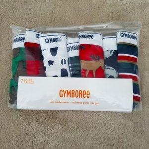 Gymboree 7 pack of boys underwear